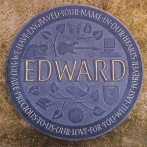 Welsh Slate Memorial Plaques, Headstones, Gravestones and Grave Stones by headstone maker
