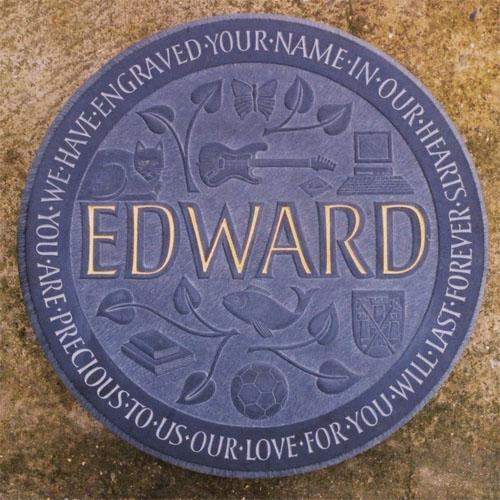 Welsh Slate Memorial Plaques, Headstones, Gravestones and Grave Stones