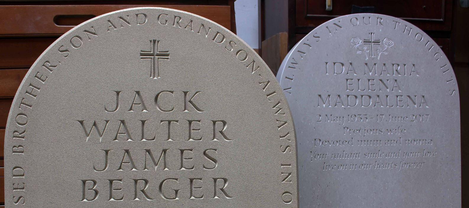 Hemel hempstead headstones, St.Albans Headstones, Watford Headstones