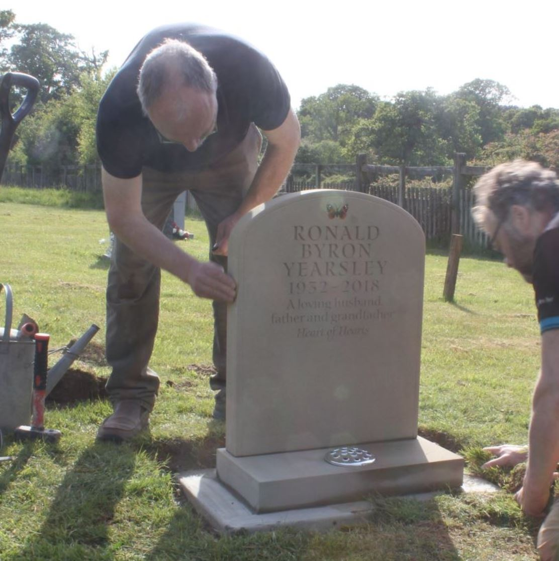 Gravestone, Headstones and Memorials