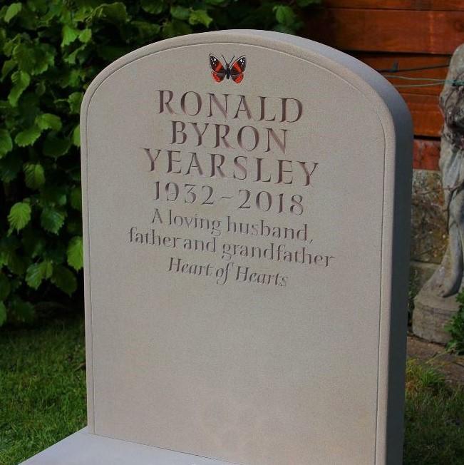 Yorkstone Headstone